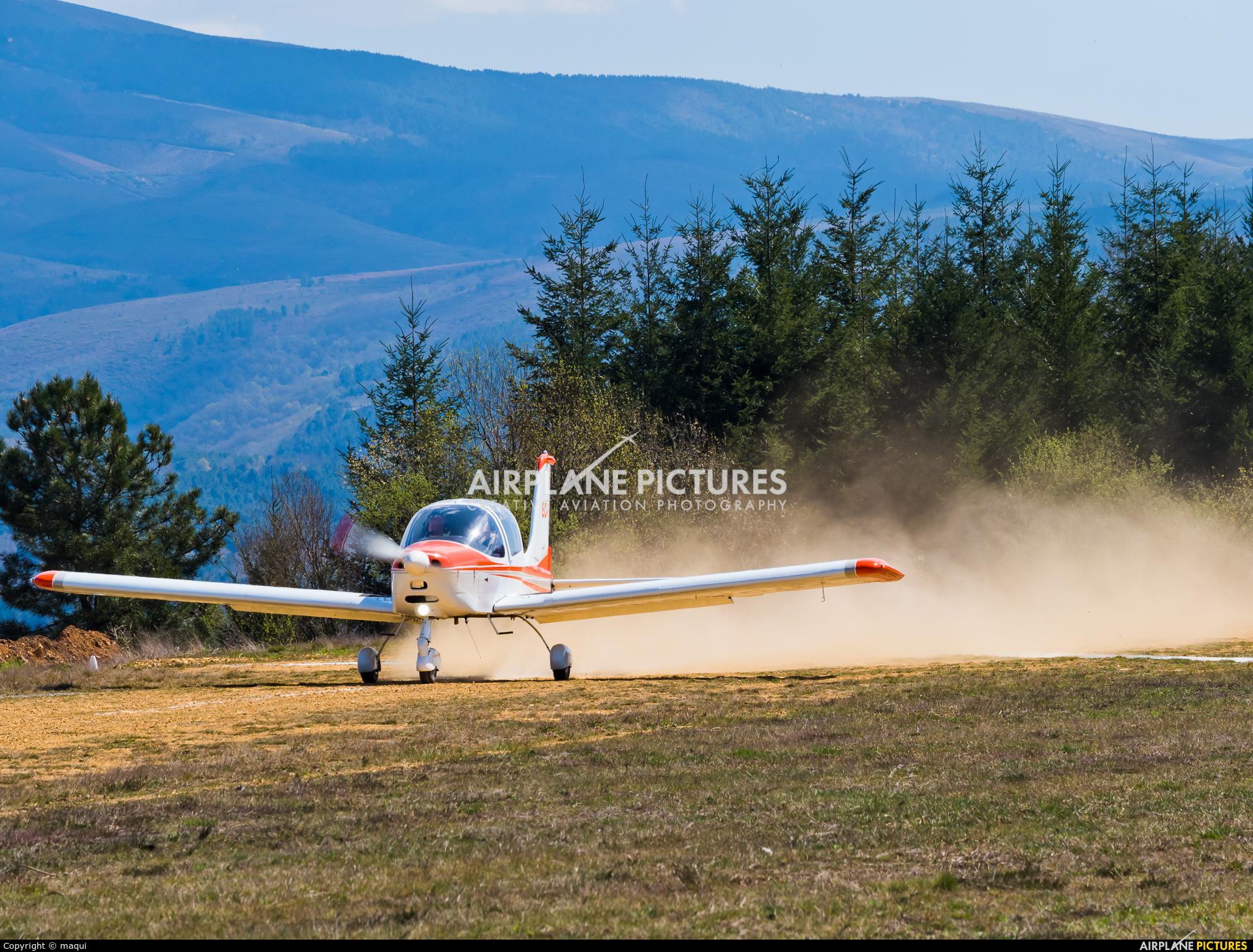 Private EC-ZCD aircraft at Ourense - Baños de Molgas Chaira