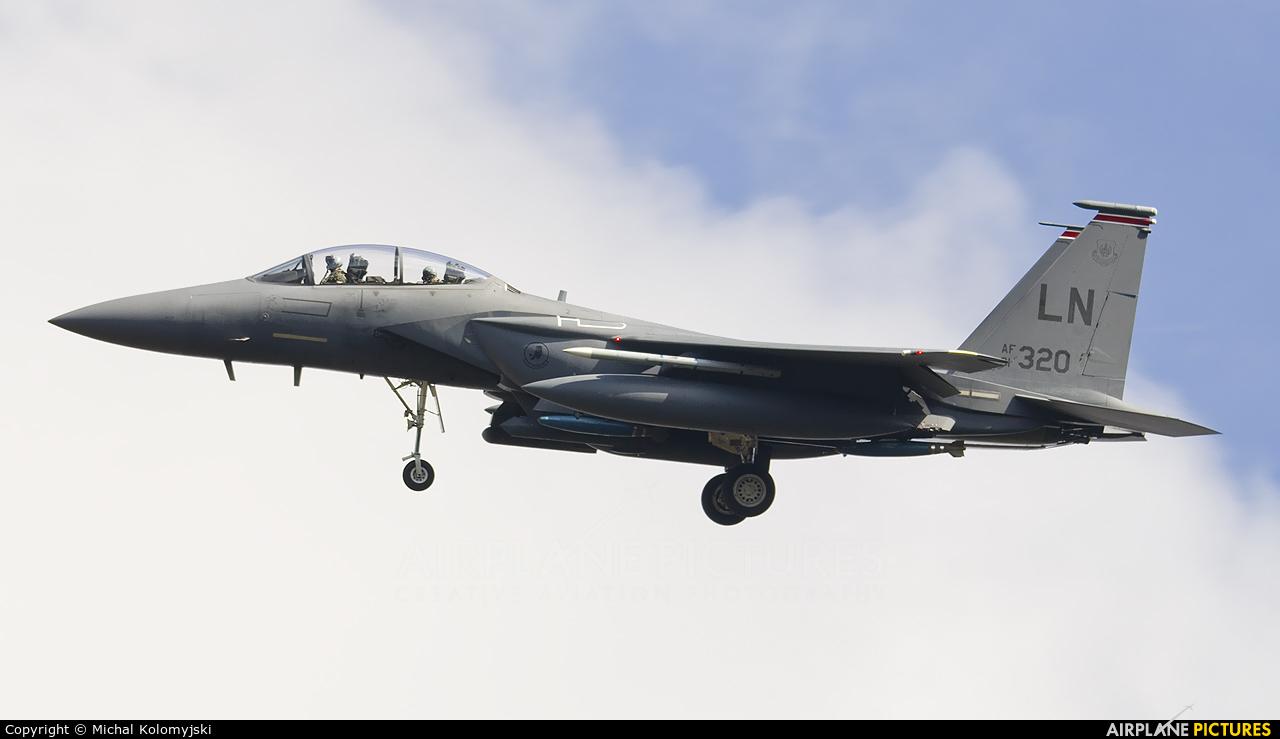 USA - Air Force 91-0320 aircraft at Powidz