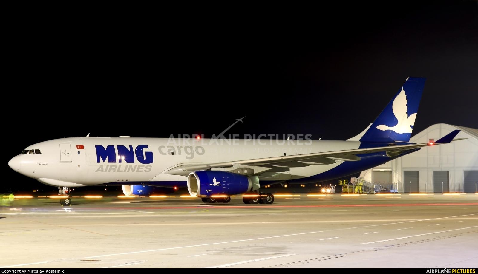 MNG Cargo TC-MCZ aircraft at Ostrava Mošnov