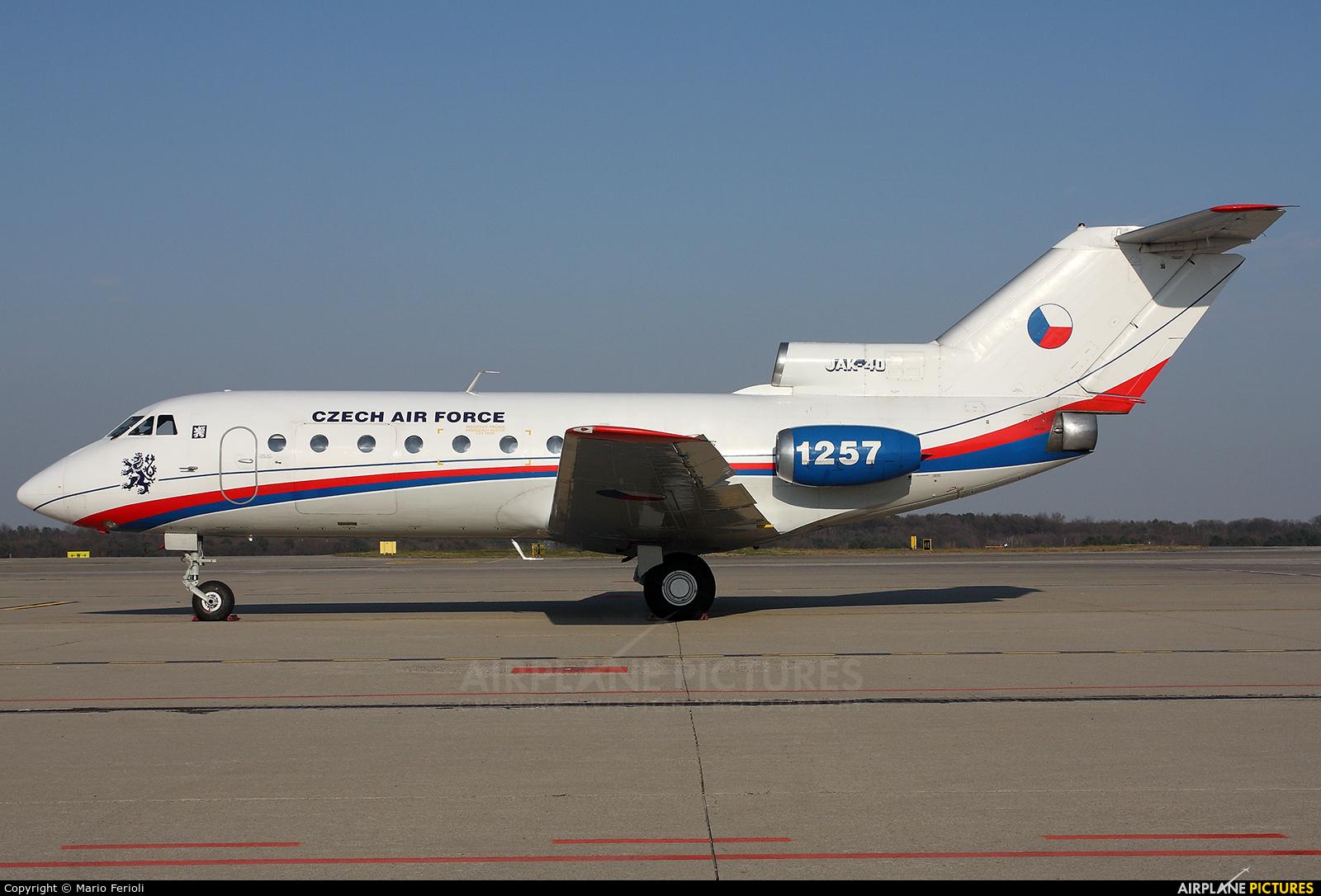 Czech - Air Force 1257 aircraft at Milan - Malpensa