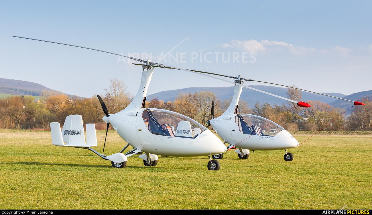 Private OK-VWC 39 aircraft at Partizanske