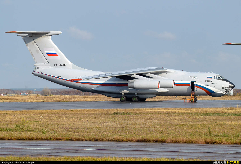 Russia - Air Force RA-86906 aircraft at Novosibirsk