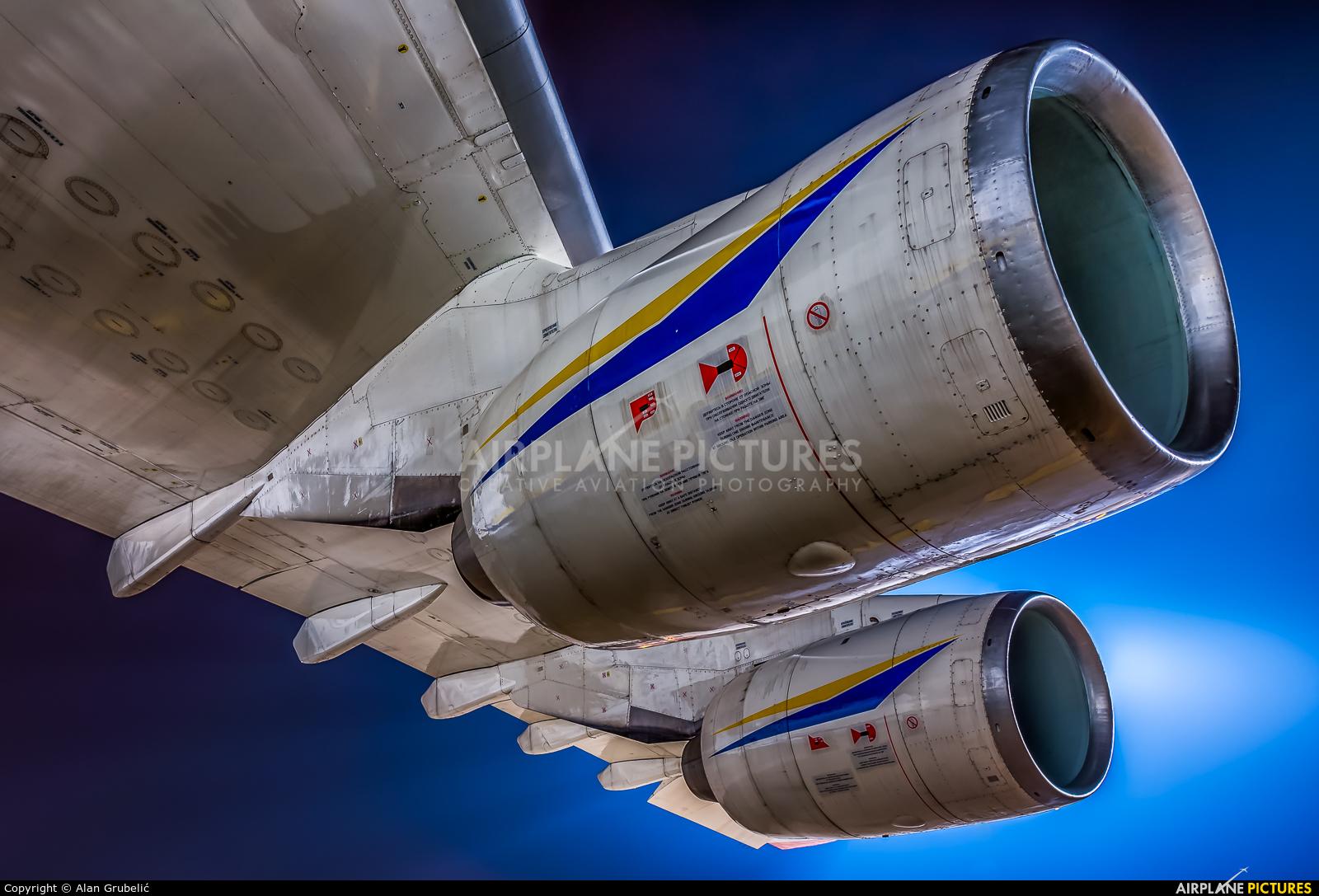 Antonov Airlines /  Design Bureau UR-82007 aircraft at Zagreb