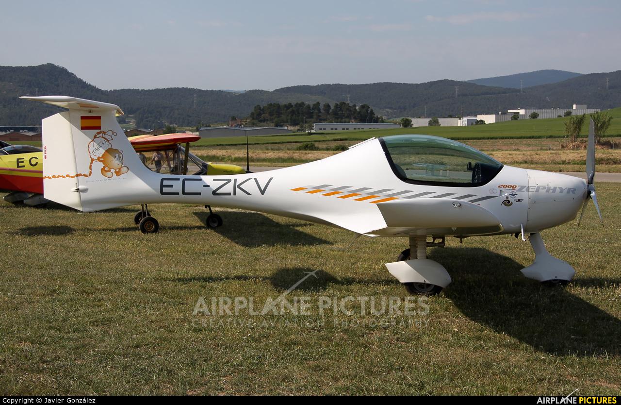 Private EC-ZKV aircraft at Igualada - Odena