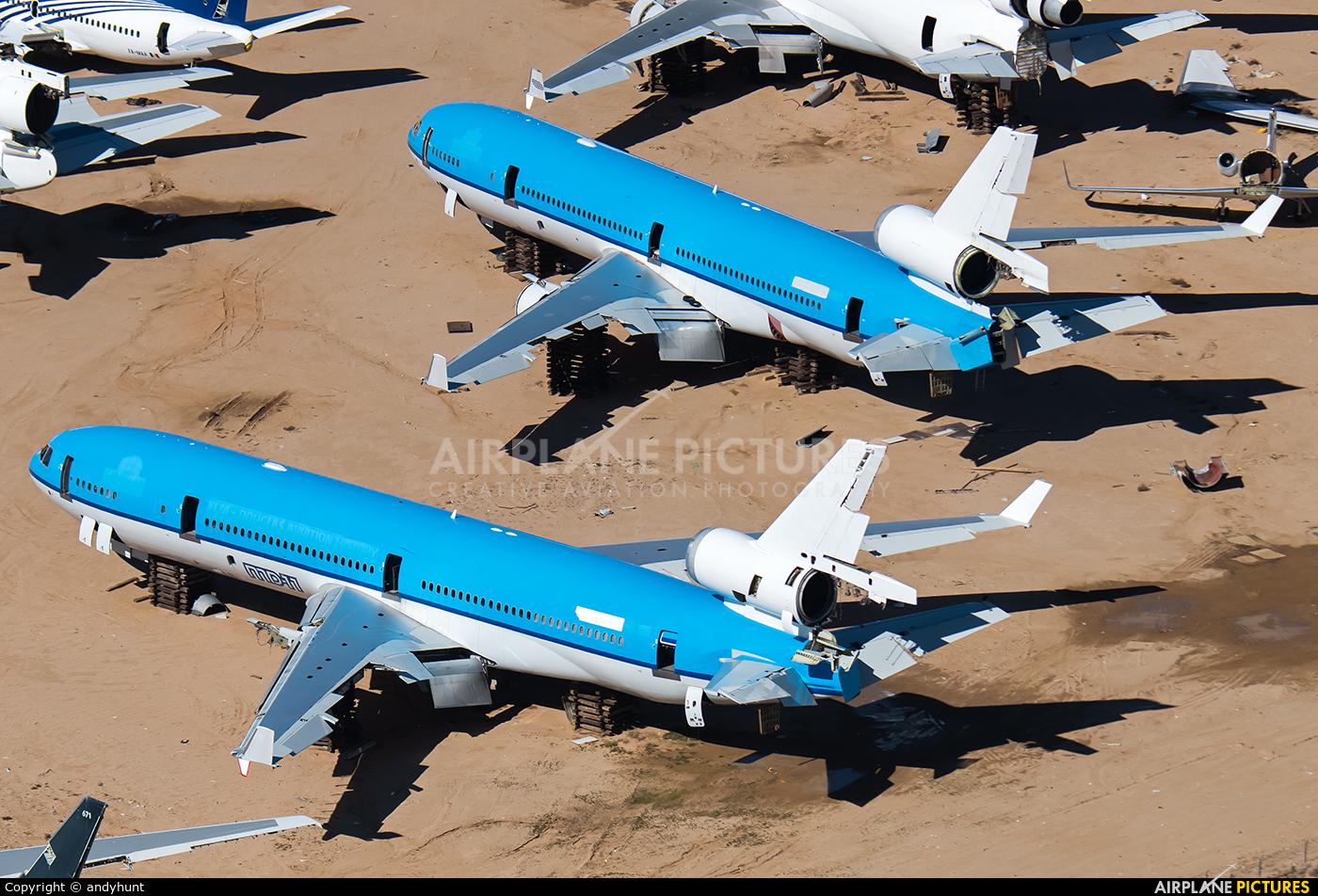 KLM PH-KCD aircraft at Mojave