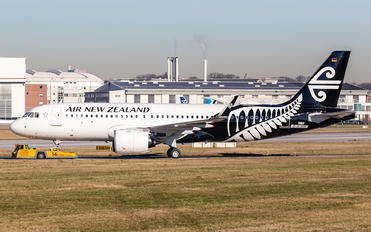 ZK-NHA - Air New Zealand Airbus A320 NEO