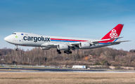 LX-VCN - Cargolux Boeing 747-8F aircraft
