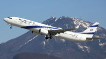 4X-EHE - El Al Israel Airlines Boeing 737-900ER aircraft