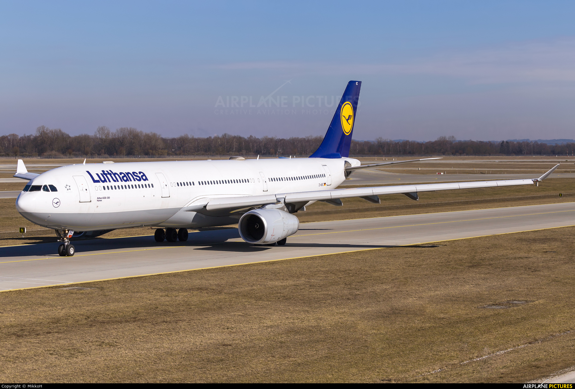 Lufthansa D-AIKC aircraft at Munich
