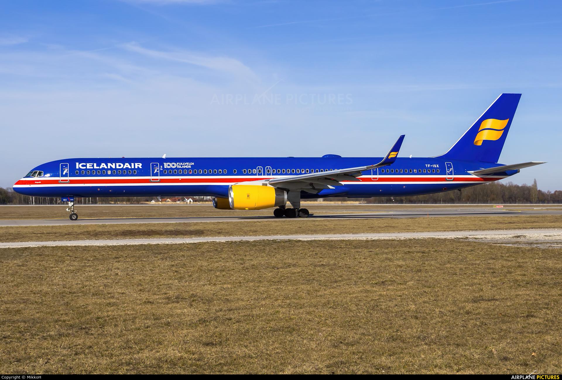 Icelandair TF-ISX aircraft at Munich