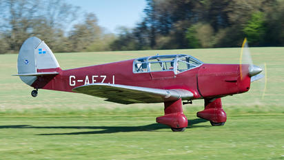 G-AEZJ - Private Percival P.10 Vega Gull