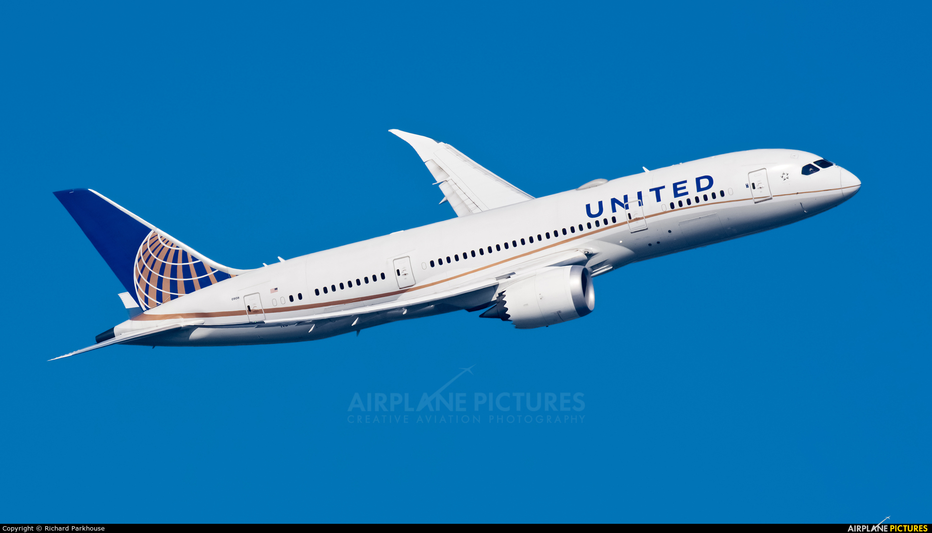 United Airlines N27908 aircraft at London - Heathrow