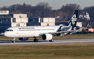 ZK-NND - Air New Zealand Airbus A321 NEO aircraft