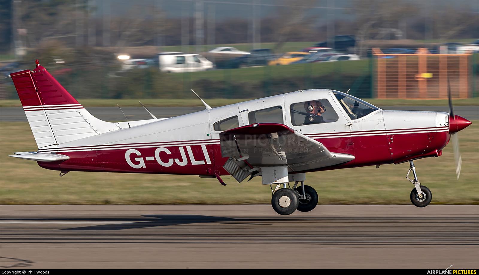 Private G-CJLI aircraft at Cardiff