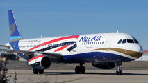 SU-BQN - Nile Air Airbus A321 aircraft
