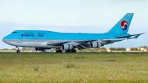 HL7493 - Korean Air Boeing 747-400 aircraft