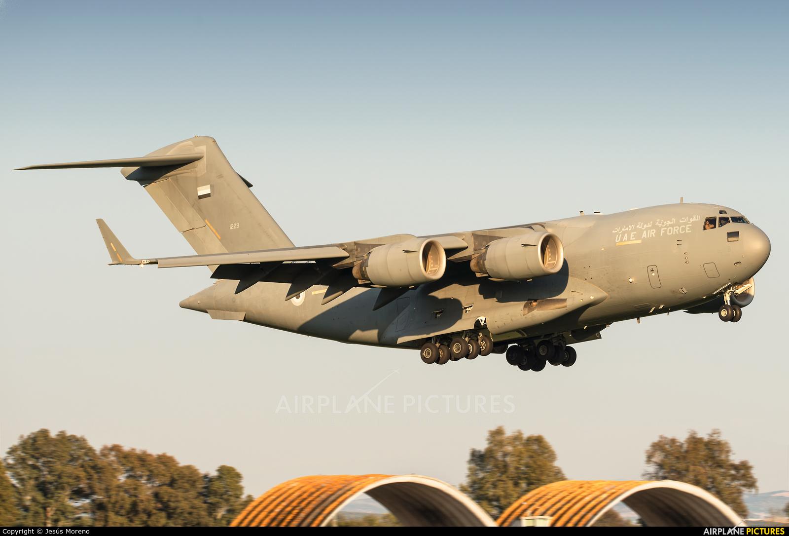 United Arab Emirates - Air Force 1229 aircraft at Seville - Moron de la Frontera