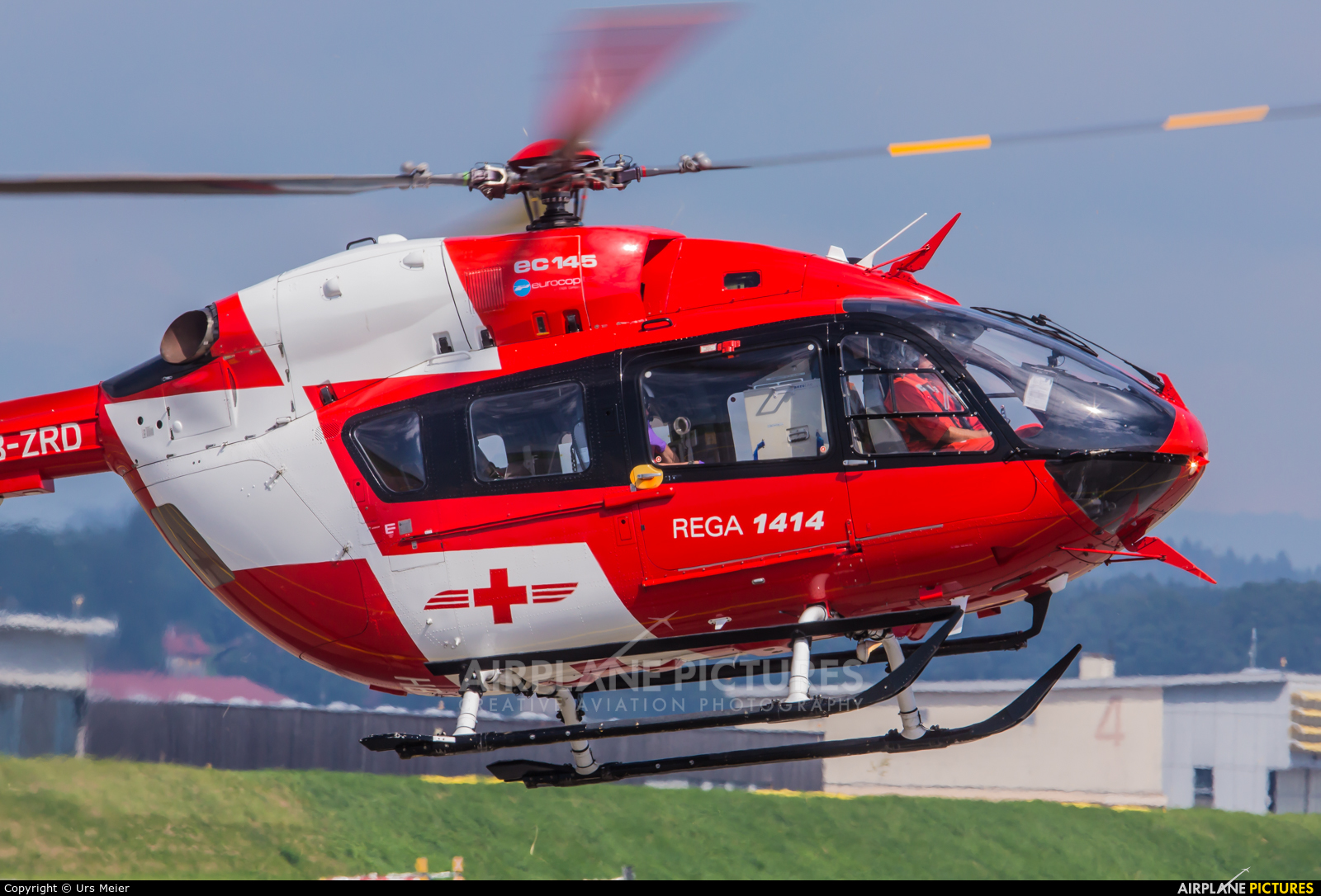 REGA Swiss Air Ambulance  HB-ZRD aircraft at Payerne