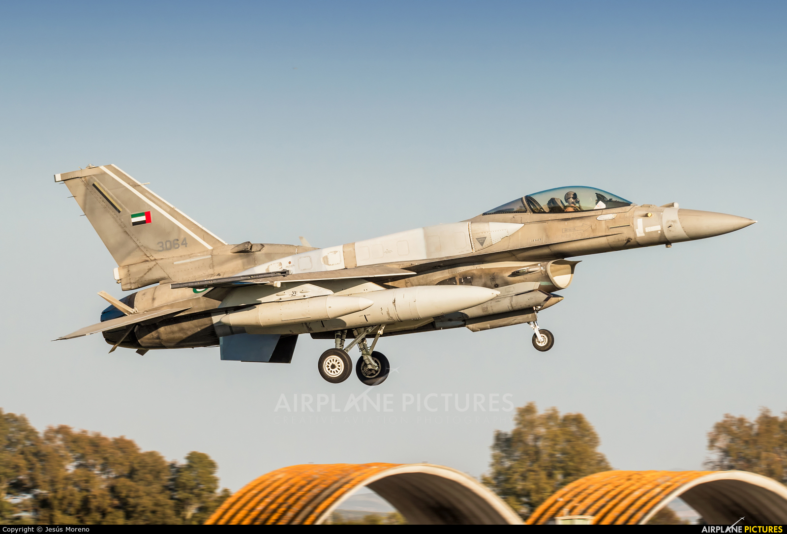 United Arab Emirates - Air Force 3064 aircraft at Seville - Moron de la Frontera