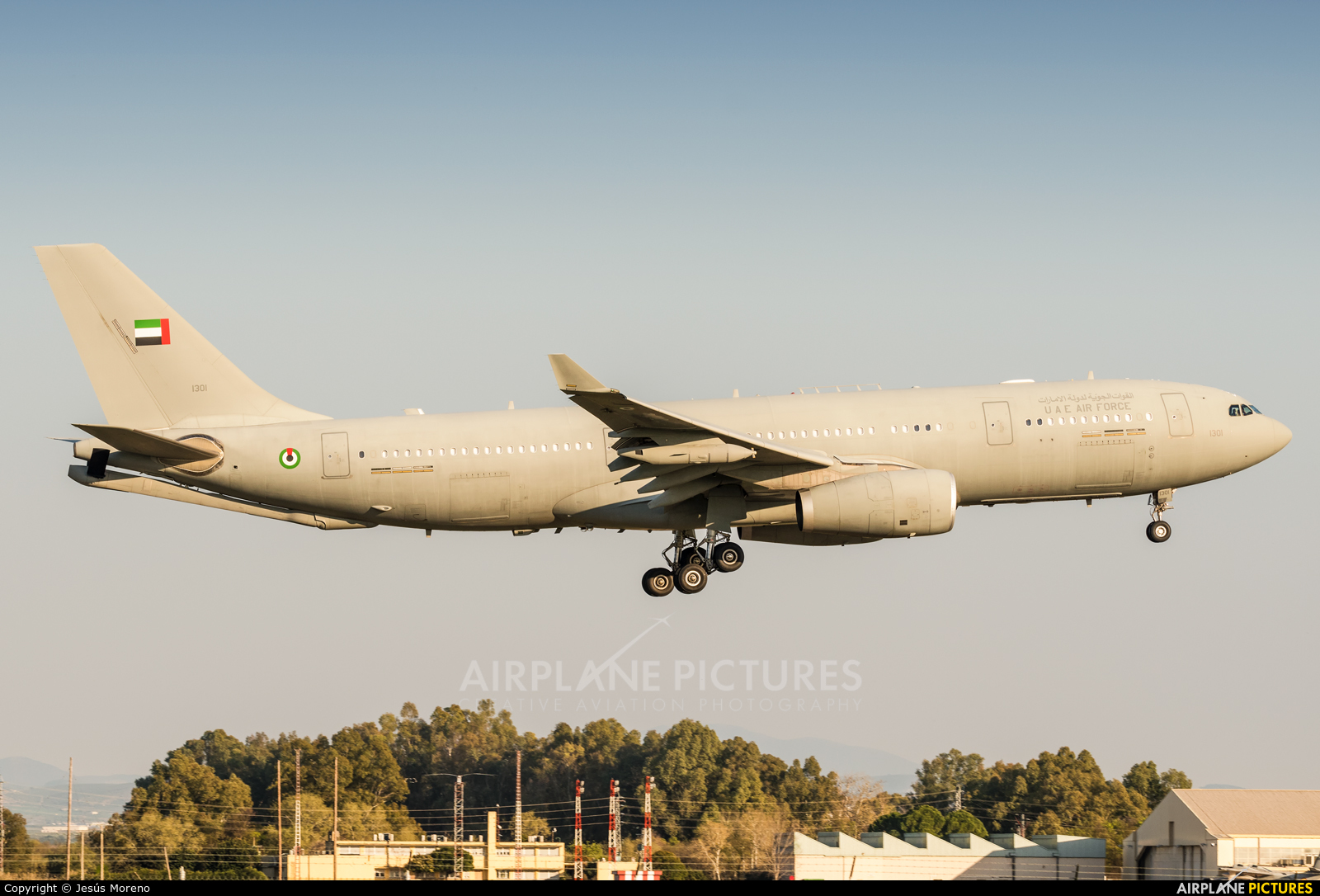 United Arab Emirates - Air Force 1301 aircraft at Seville - Moron de la Frontera
