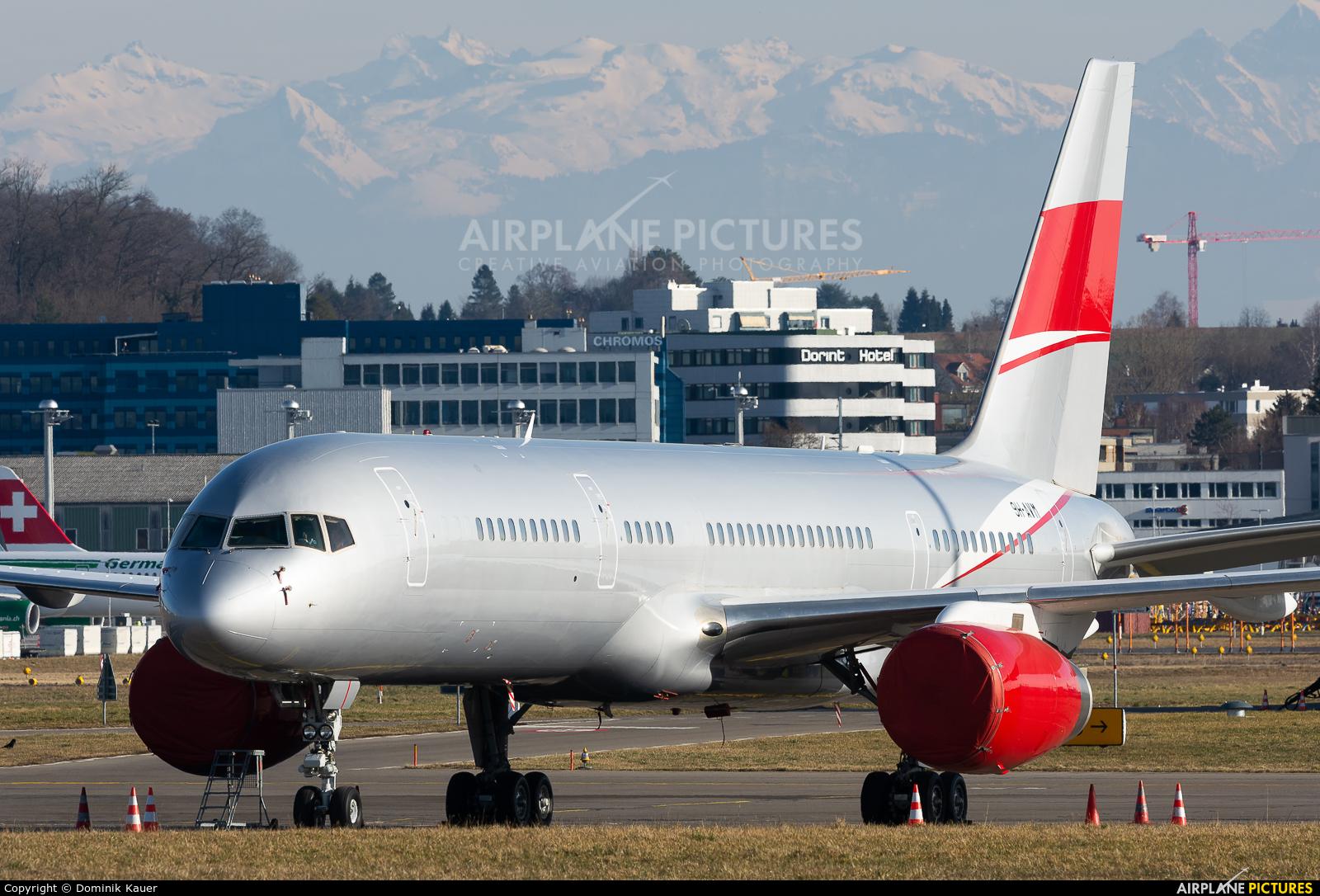 JetMagic 9H-AVM aircraft at Zurich