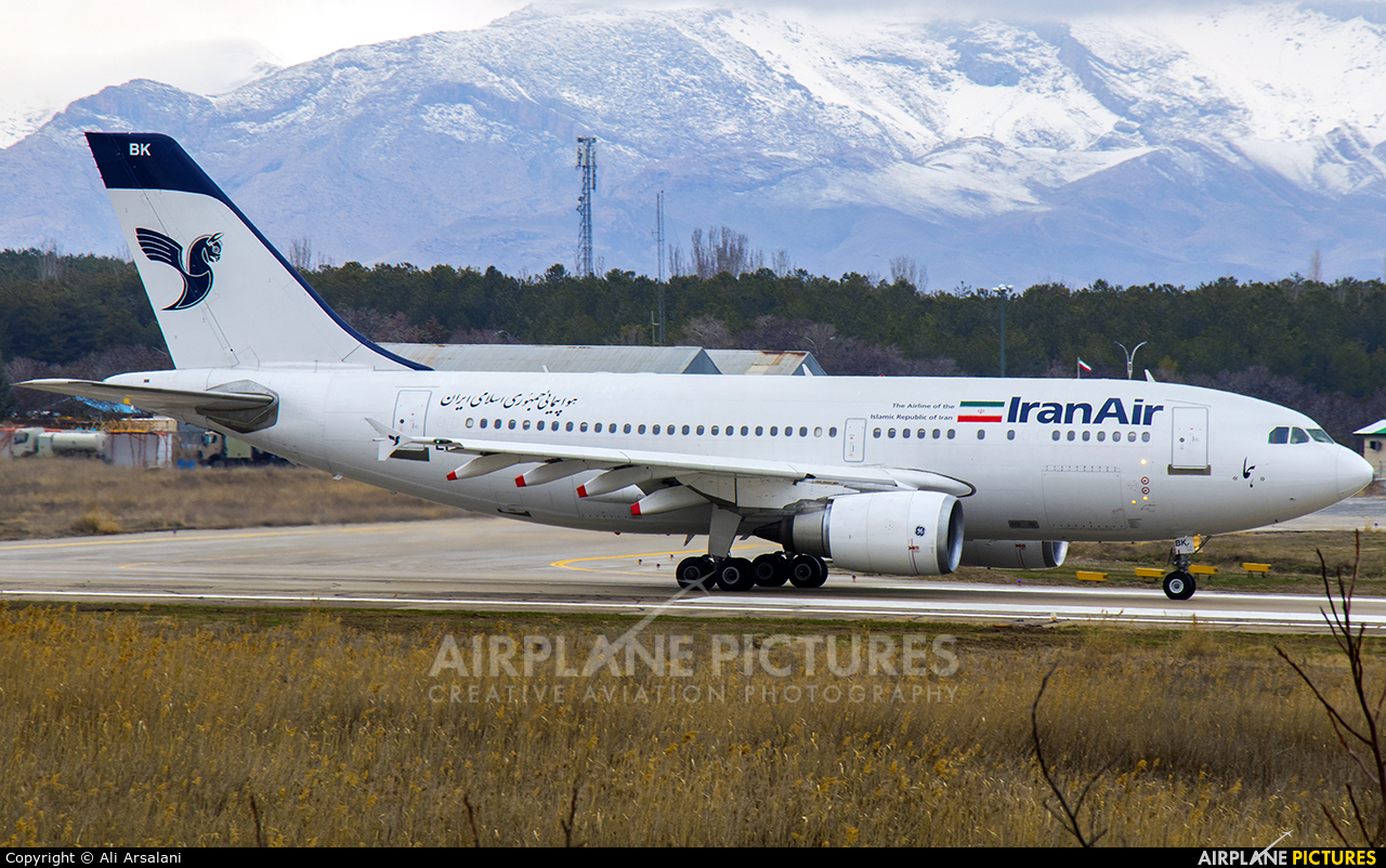 Iran Air EP-IBK aircraft at Urmia