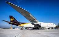 N605UP - UPS - United Parcel Service Boeing 747-8F aircraft