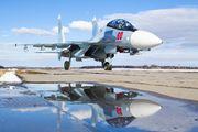 60 - Russia - Air Force Sukhoi Su-30SM aircraft