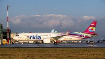 4X-AGH - Arkia Airbus A321 NEO aircraft