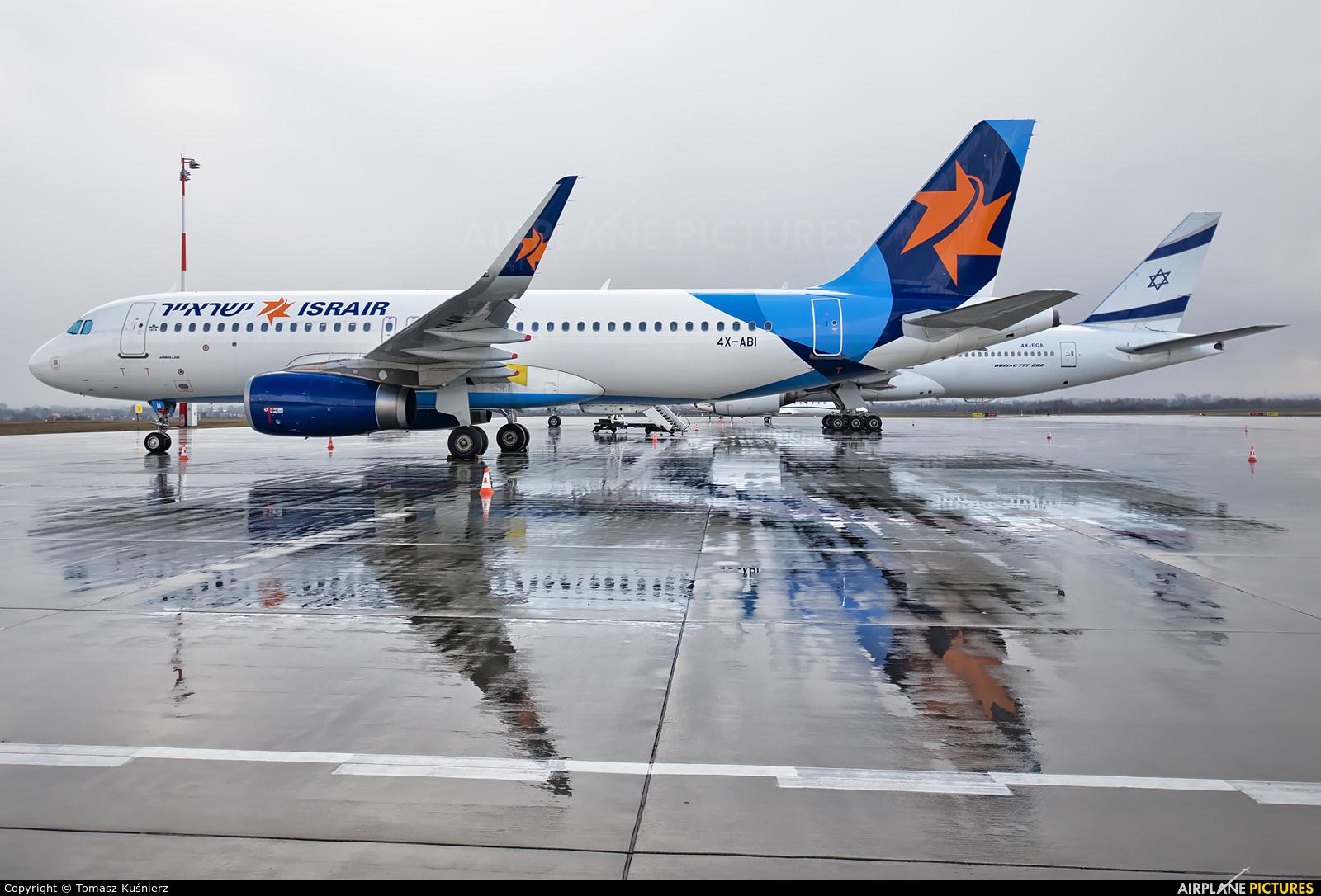 Israir Airlines 4X-ABI aircraft at Rzeszów-Jasionka