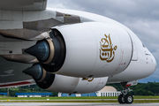 A6-EUU - Emirates Airlines Airbus A380 aircraft