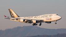 Rare visit of Thai B744 to Zurich title=