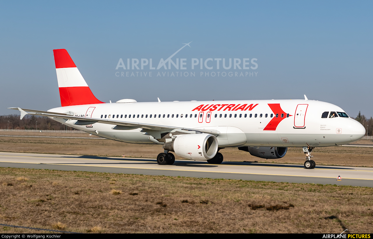 Austrian Airlines/Arrows/Tyrolean OE-LBO aircraft at Frankfurt