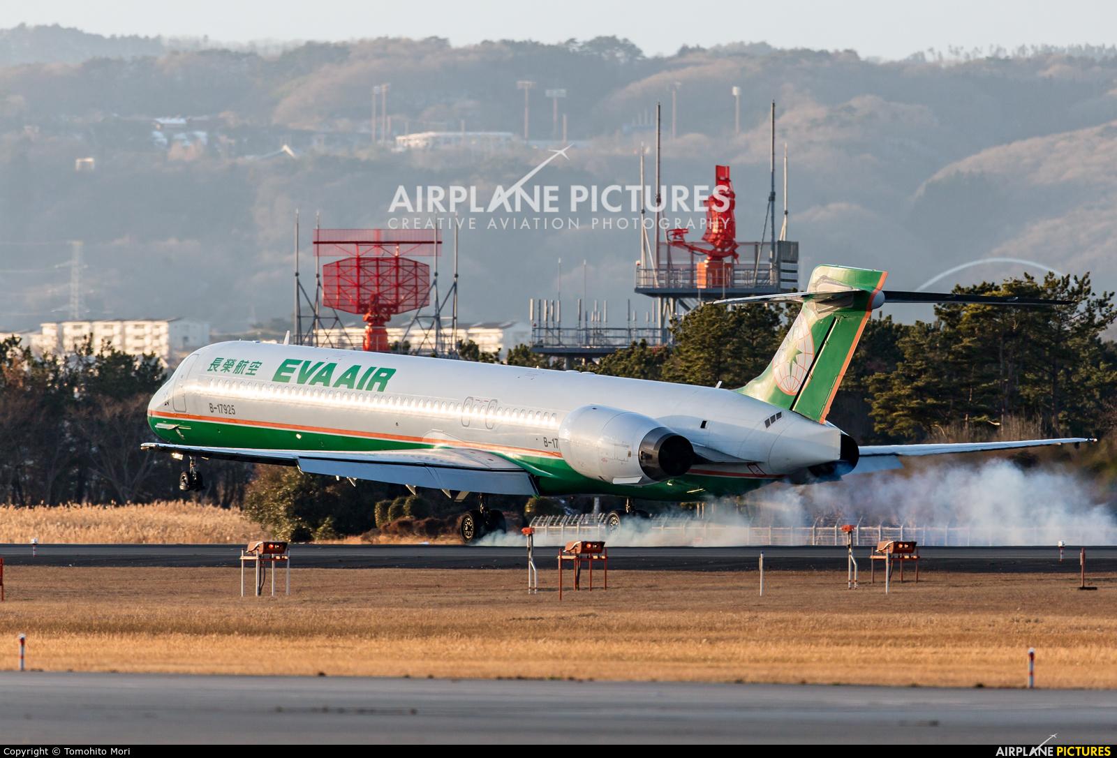Eva Air B-17925 aircraft at Sendai