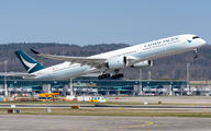 First visit of Airbus A350-1000 to Zurich title=