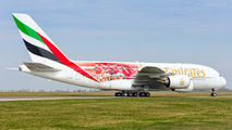 A6-EEB - Emirates Airlines Airbus A380 aircraft