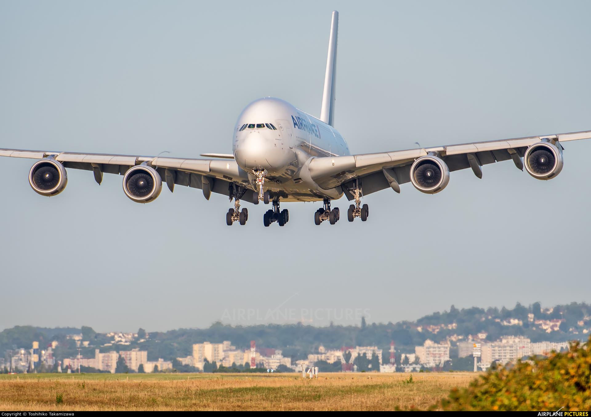 Air France F-HPJC aircraft at Paris - Charles de Gaulle