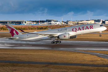 A7-ALV - Qatar Airways Airbus A350-900