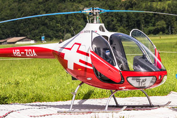 HB-ZOA - Swiss Helicopter Guimbal Hélicoptères Cabri G2