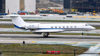 XA-ATL - Private Gulfstream Aerospace G-V, G-V-SP, G500, G550