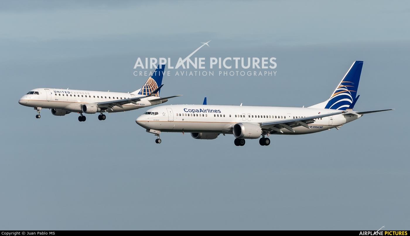 Copa Airlines HP-9904CMP aircraft at San Francisco Intl
