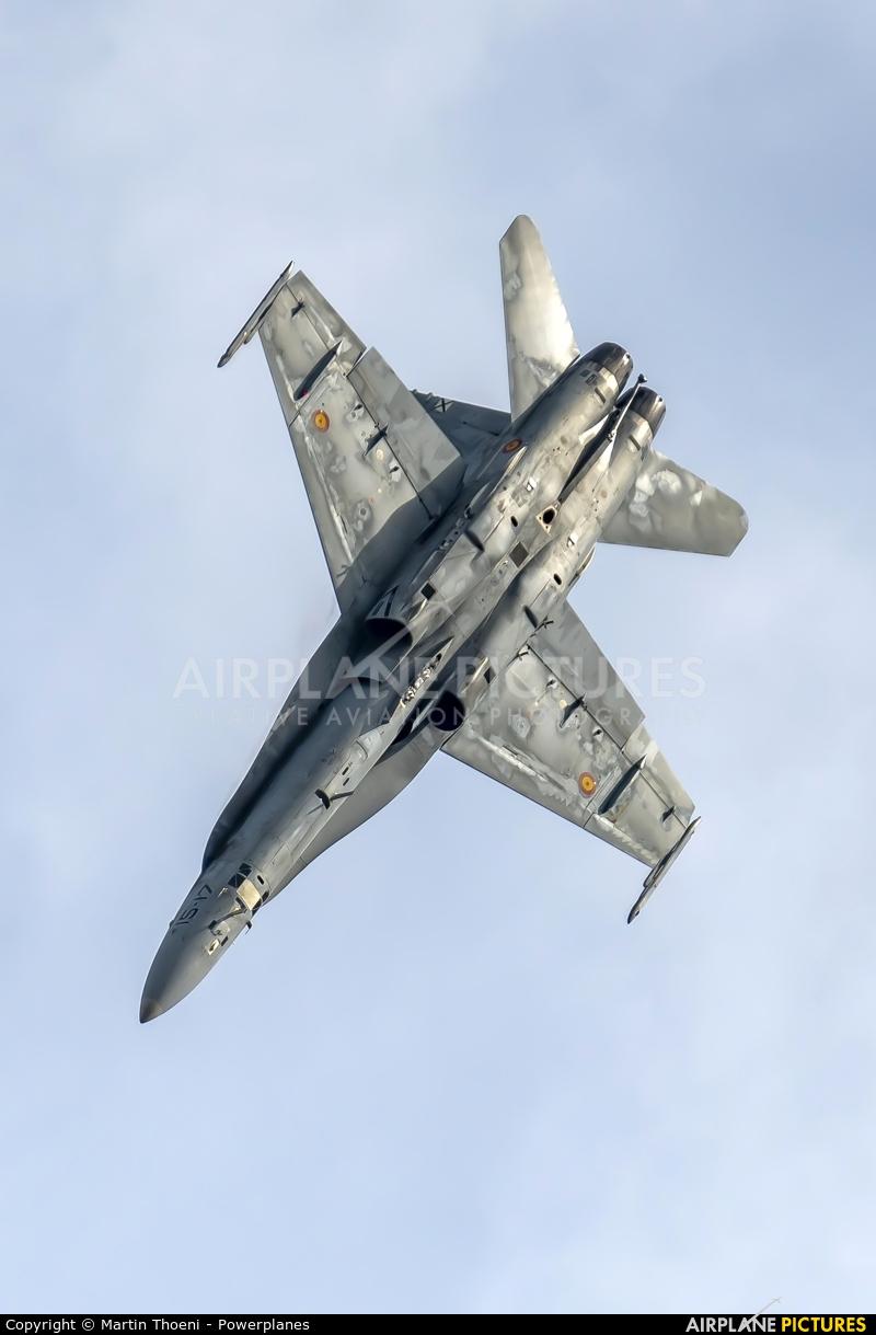 Spain - Air Force C.15-30 aircraft at Kleine Brogel