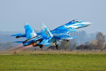 56 BLUE - Ukraine - Air Force Sukhoi Su-27