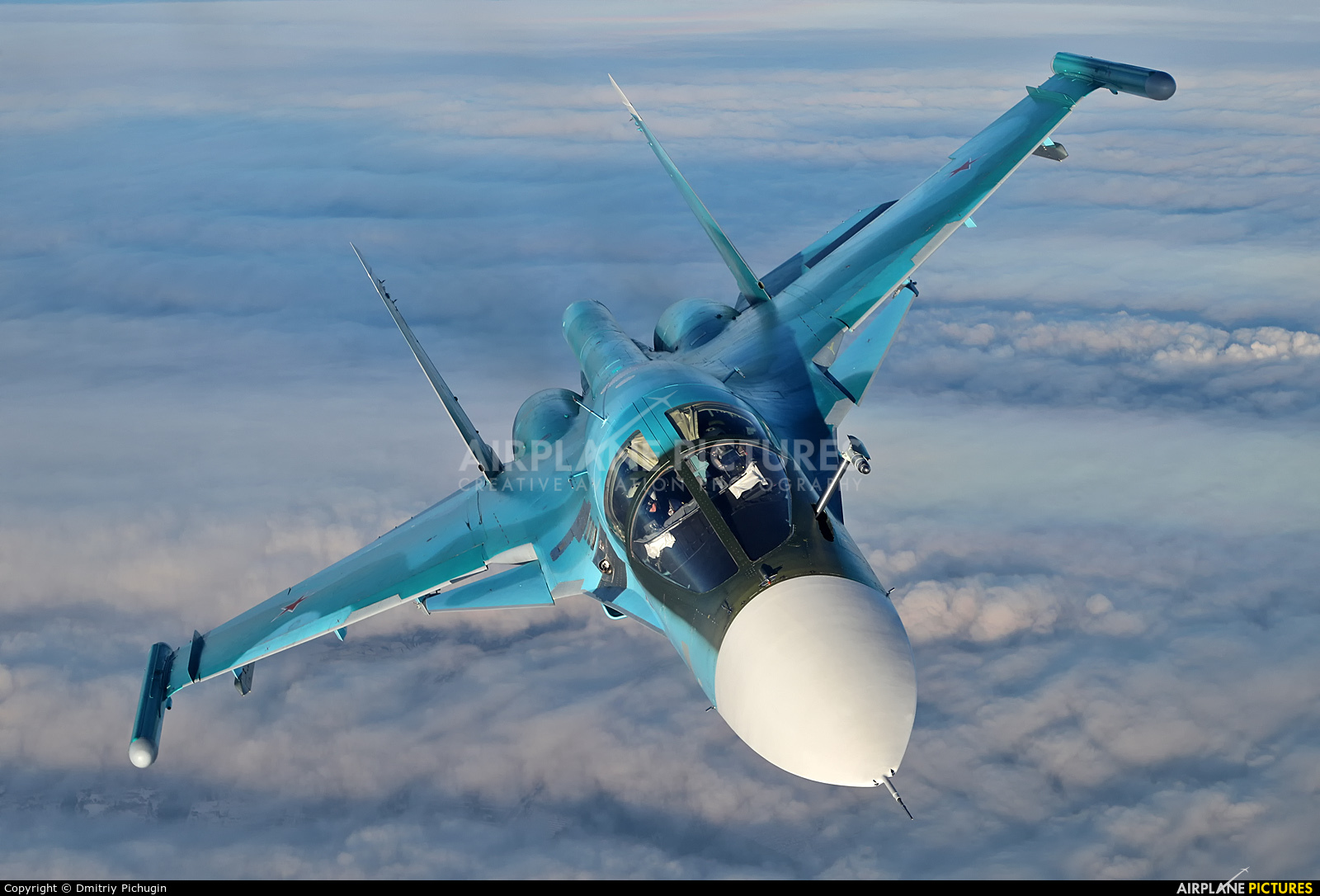 Russia - Air Force RF-95842 aircraft at In Flight - Russia