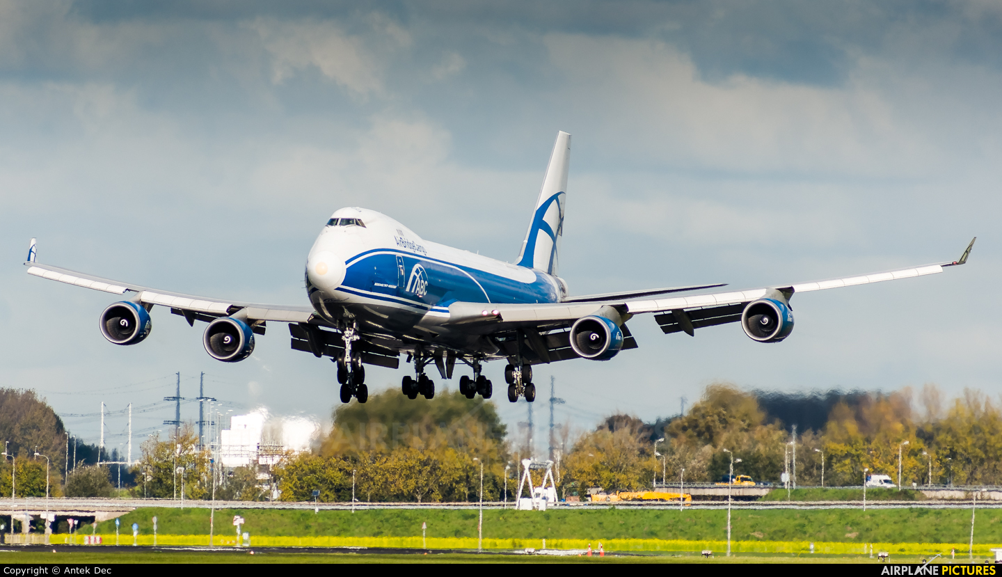 Air Bridge Cargo VP-BIK aircraft at Amsterdam - Schiphol
