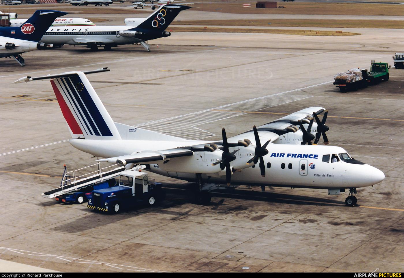 Air France G-BRYA aircraft at London - Heathrow