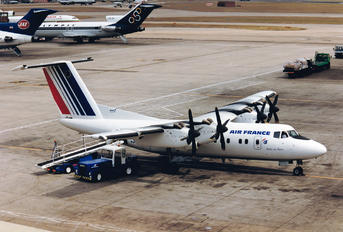 G-BRYA - Air France de Havilland Canada DHC-7-100 series