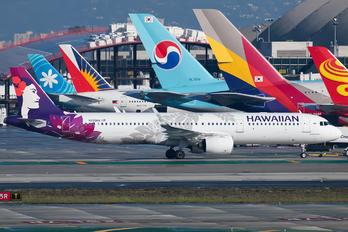 N205HA - Hawaiian Airlines Airbus A321