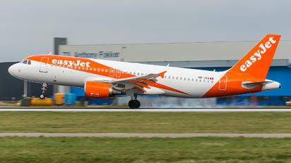 HB-JXA - easyJet Switzerland Airbus A320