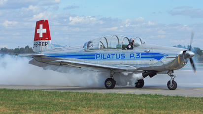 HB-RBP - Private Pilatus P-3